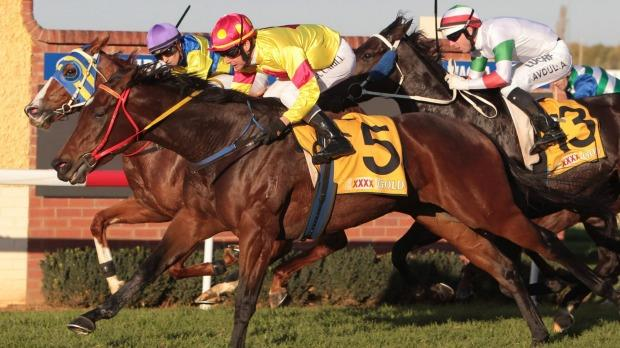 Just A Blur wins Wagga Town Plate