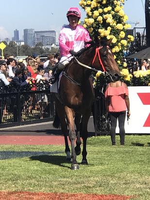 Token Of Love chalks up G2 placing at Flemington