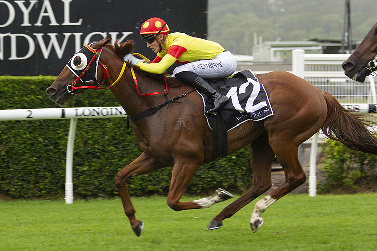 Mercurial Lad delivers at Randwick