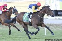 Porte Cochere posts overdue win
