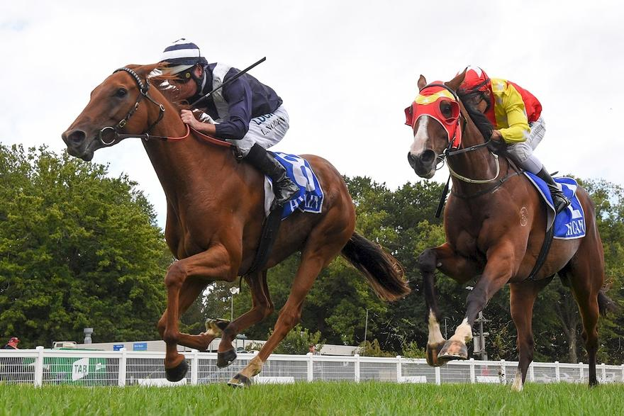 RED JEWEL GIRL breaks maiden