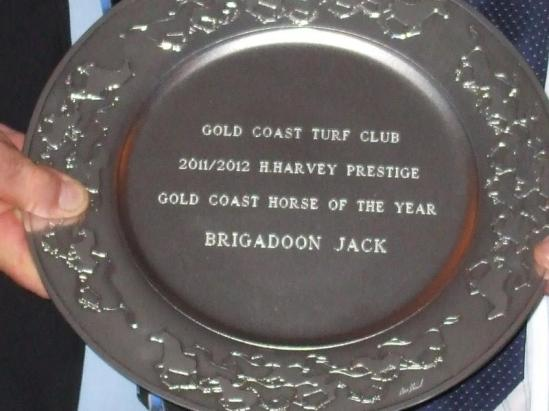 Brigadoon Jack crowned Gold Coast Horse of the Year