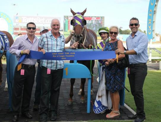Duorosa brings up a raceday treble for the Hill stable