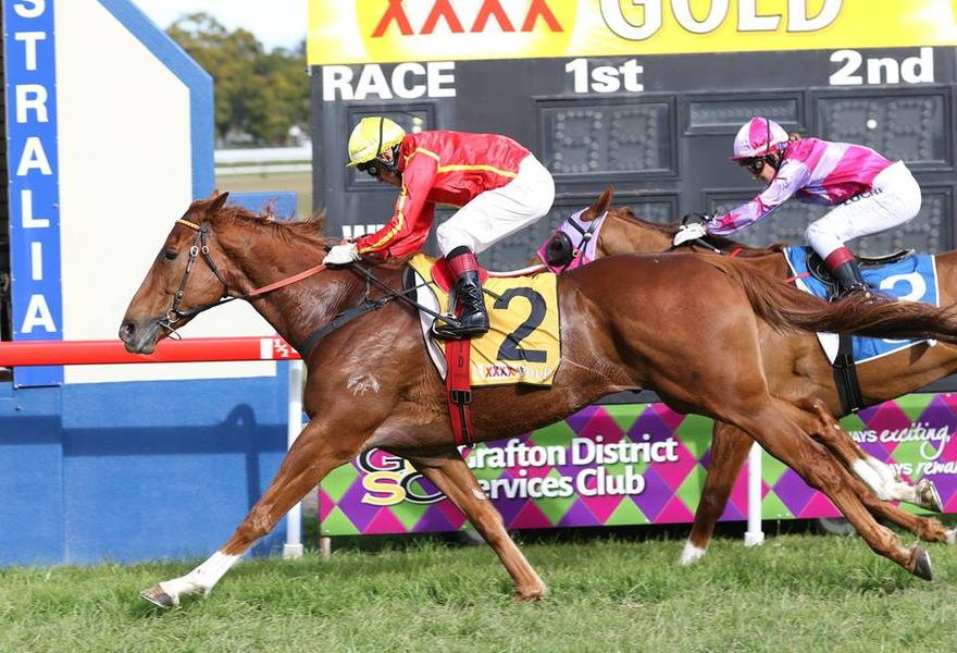 Sneaky Galnce Records Grafton Guineas Win
