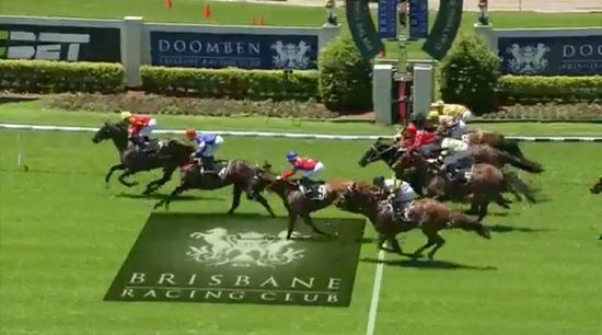 Dauphin de France Wins at Doomben