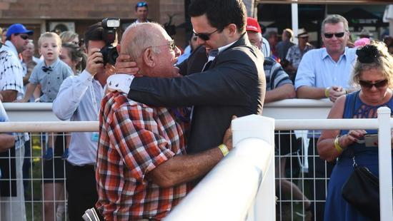 Trainer Michael Hickmott emotional after Canny Ballad Darwin Cup win | NT NEWS