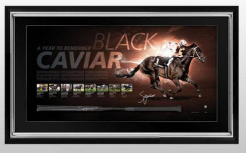 WIN A BLACK CAVIAR FRAMED LITHOGRAPH!