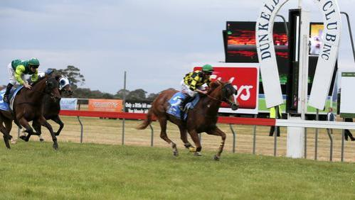 Diamonds At Noon sparkles to win Dunkeld Cup!
