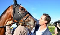 Cumani trains his first winner!