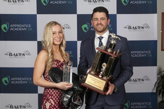 Kayla Crowther wins SA's top apprentice award