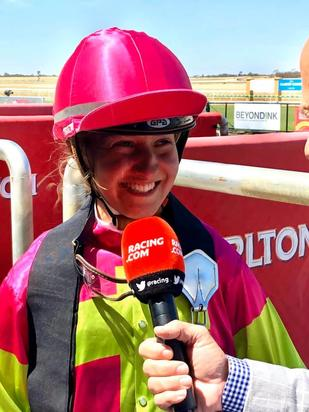 Maggie Collett Scores First Win with DJR Stable
