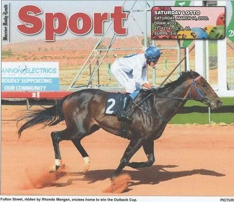 Fulton Street wins St Pat's Cup - Horse racing gods smile on jockey