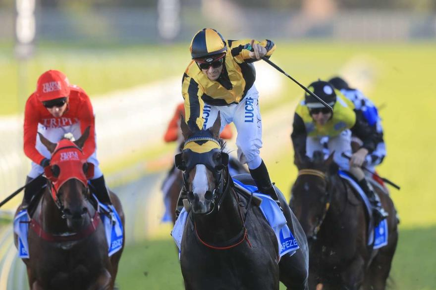 Trapeze Artist wins TJ Smith Stakes