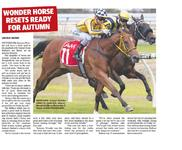 Wonder Horse Resets Ready For Autumn