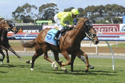 ATB's Matty Williams trained Choisance scores win number four today at Stawell