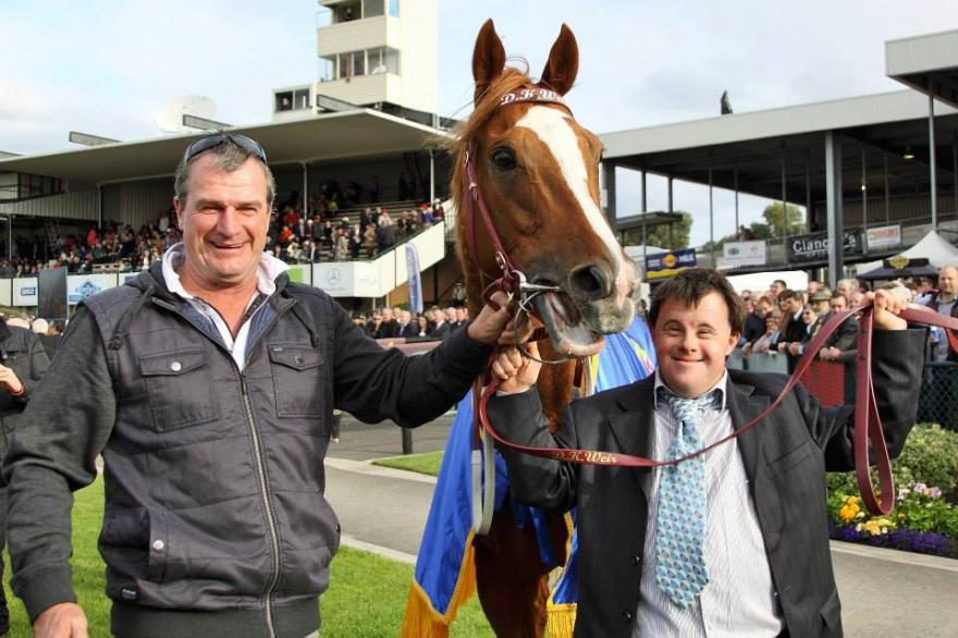 Darren Weir treble brings up 100 metro milestone