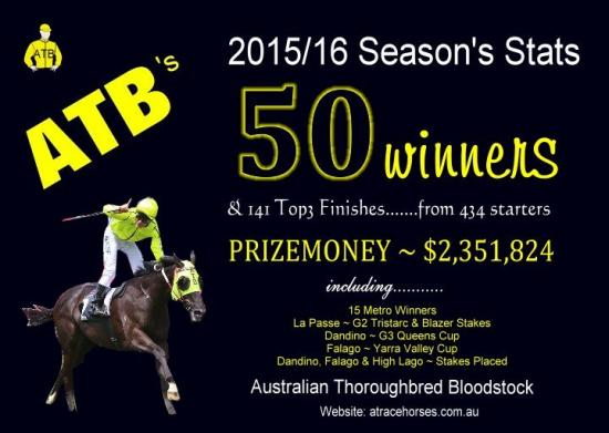 2015/16 - The Year That Was - Australian Thoroughbred Bloodstock