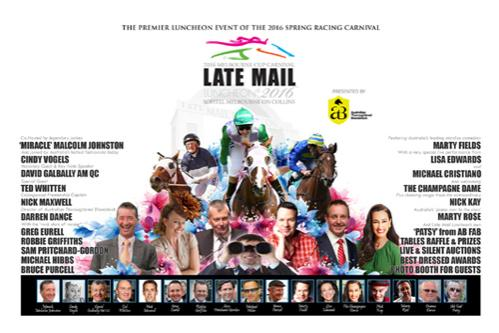 11th Annual Late Mail Luncheon® on again at Sofitel Melbourne