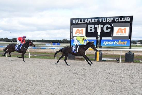 Miss Tenthousand's deserved Maiden victory
