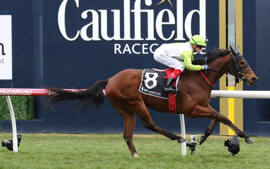 Call Me Handsome wins Heatherlie Stakes