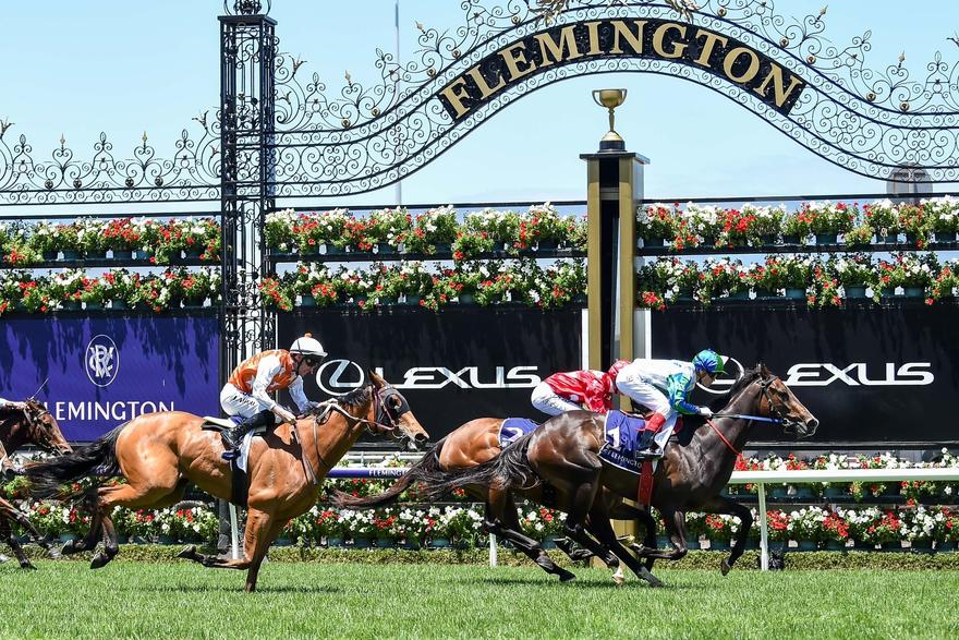 Flemington win gives My Pendant a hat-trick