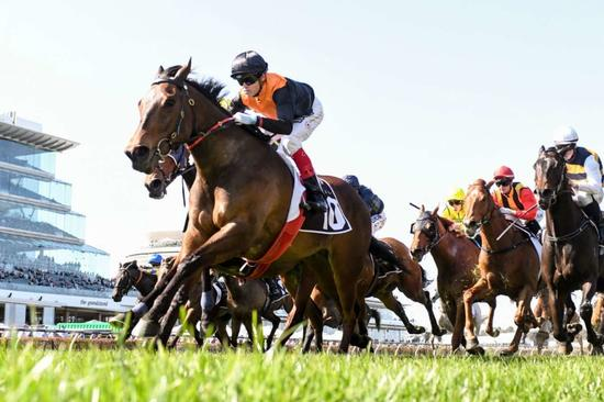 Rox The Castle takes step to stakes grade