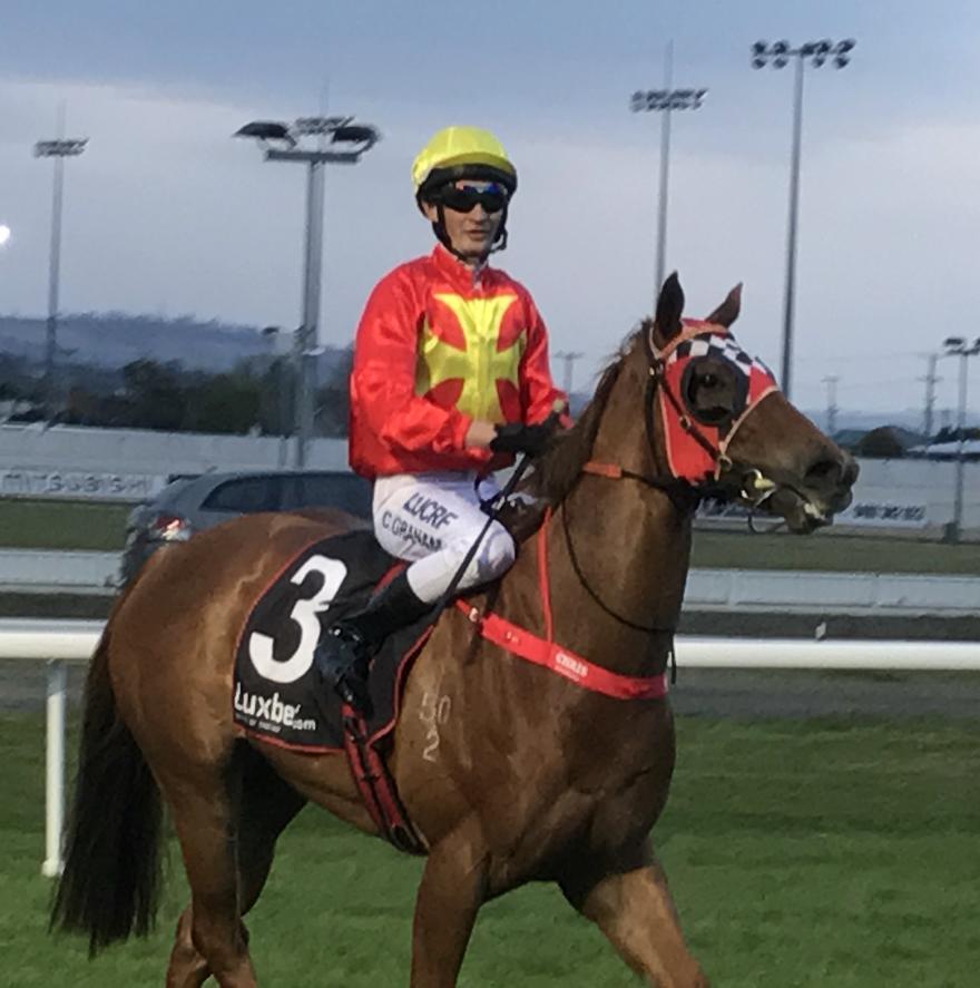 Anastasia wins 1st up in Tasmania