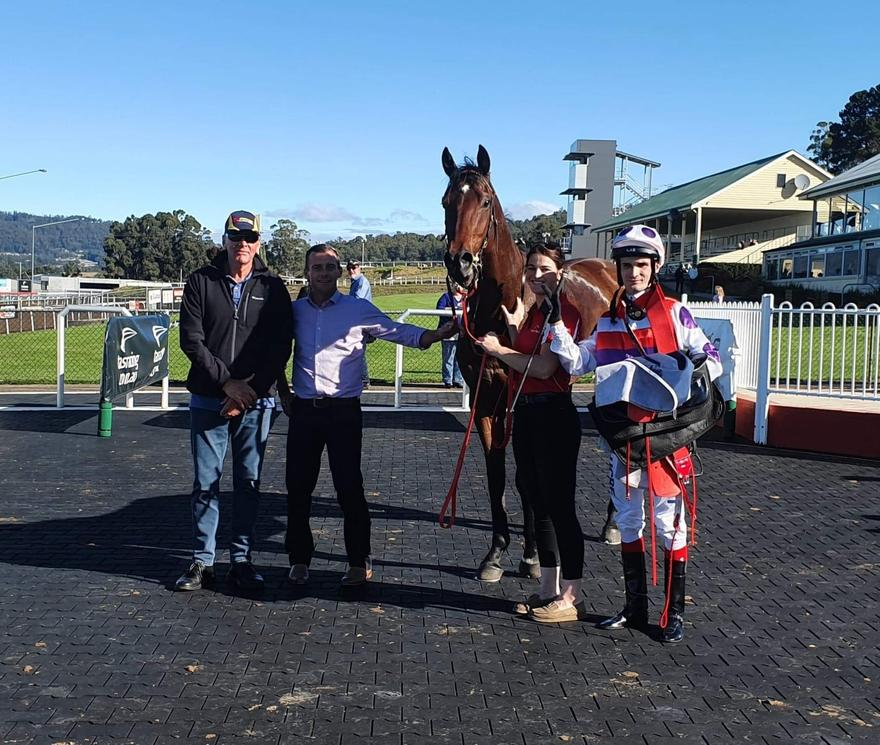 Trinder Double at Devonport