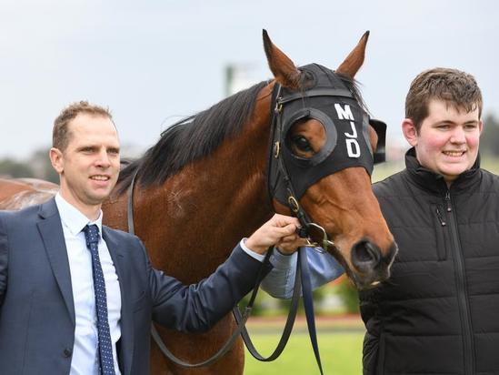 TRIP TO SANDOWN PAYS OFF FOR MATTHEW DALE