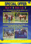 SPECIAL OFFER - BUY 1, RACE 2!