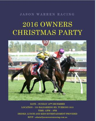JWR OWNERS CHRISTMAS PARTY