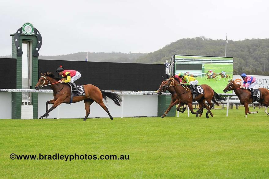 Virgilio Breaks Through For Maiden Win