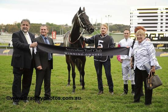 Win for Heavenly Anna at Randwick