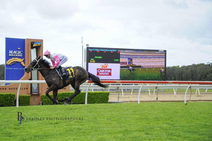 Heartlet's Maiden Win at Wyong on 11 October 2018