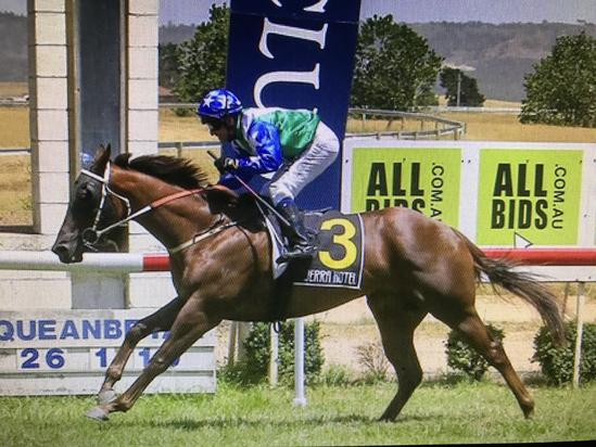 Neptune Breaks His Maiden Win at Queanbeyan on Australia Day