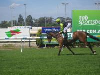 Dame Claire romps in at Pakenham.