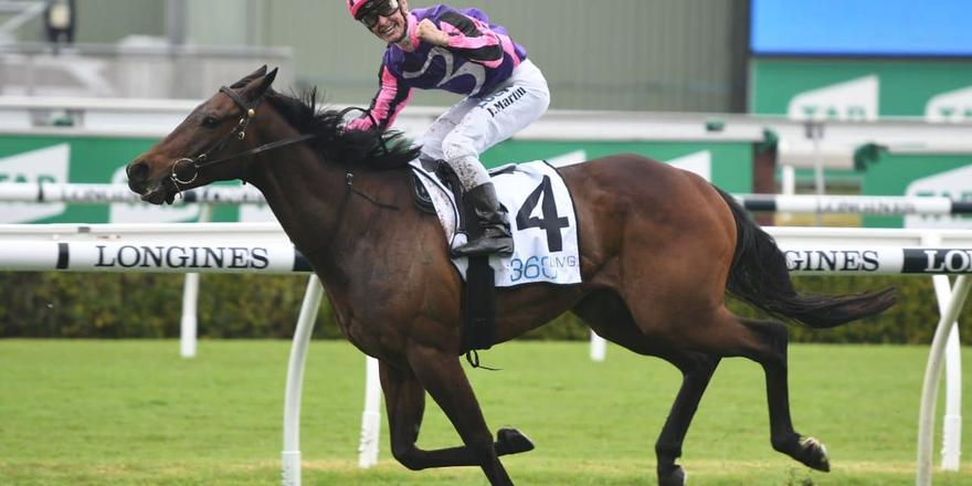 Jack Martin and Moss'N'Dale take out the Gr3 Craven Plate.