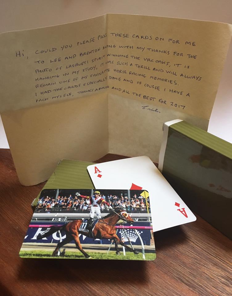 70 year old punter writes heartfelt letter to trainer of $201 winner