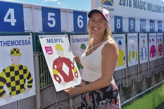 Meryl draws beautifully in 2yo Magic Millions