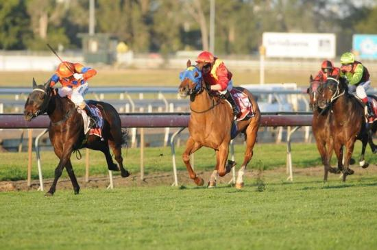 Jet flies home for huge first-up win at Eagle Farm