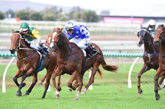 Aheadofhistime Wins At Doomben