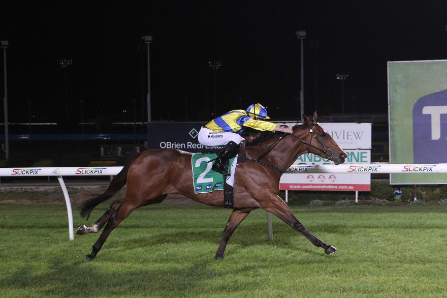 Home track provides Spark for Hyland