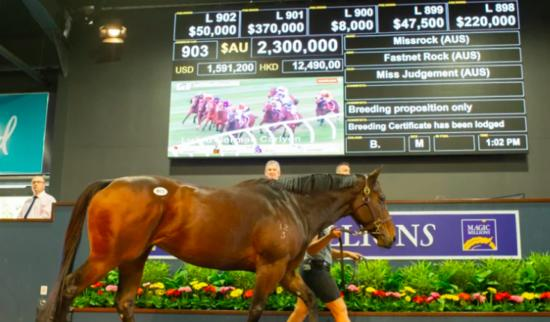 Missrock goes from the nearly mare to multimillionaire