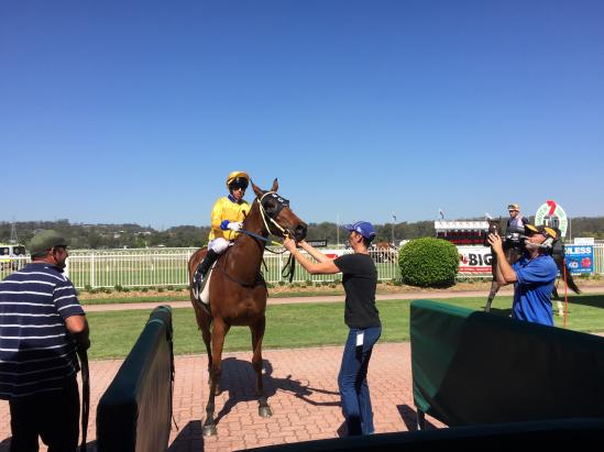 Devonport Scores At His Second Start