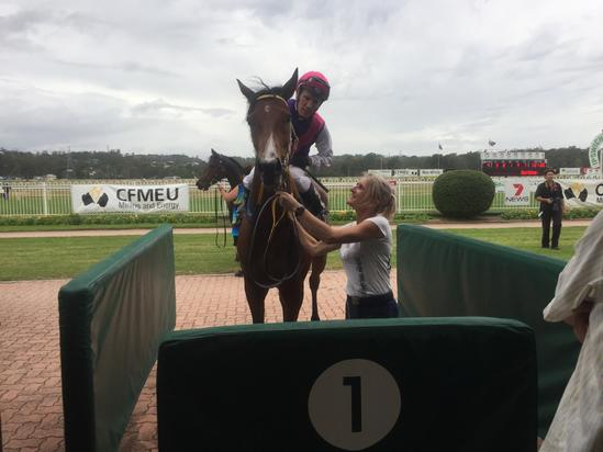 PATIENCE PAYS OFF FOR LADY EIGHTY EIGHT