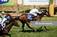Sister Kitty Mac wins on Werribee Cup Day
