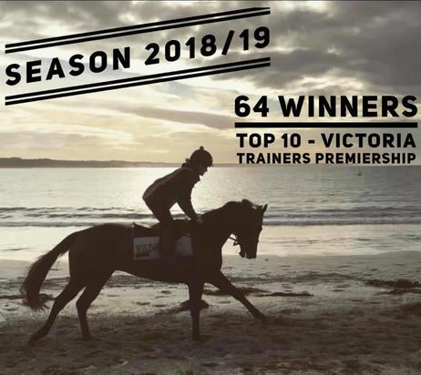 2018/2019 racing season closes with 64 winners