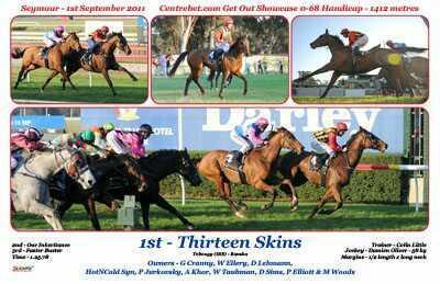 Great return by Thirteen Skins.