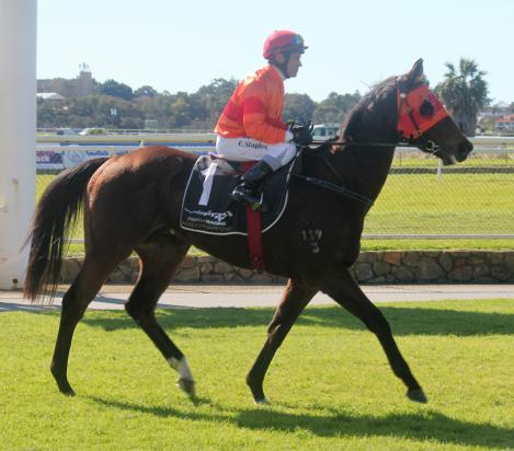 RICH RED ROMPS HOME!