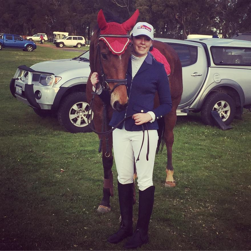 Kerrific finds success as a show jumper